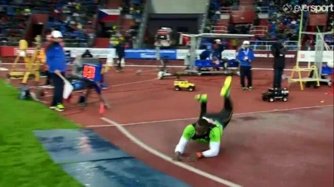 Julius Yego 86.88m Javelin Throw Kenyan NR foul