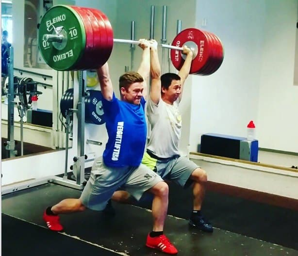 Synchronized Weightlifting