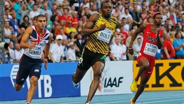 Usain Bolt 200 meters 2013 WC