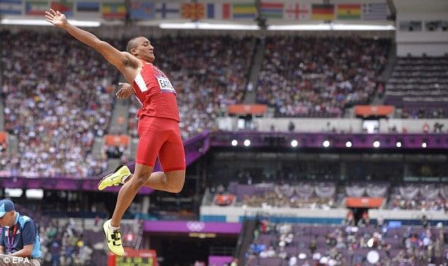 ashton eaton long jump