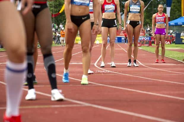 Jessica Ennis 800m start