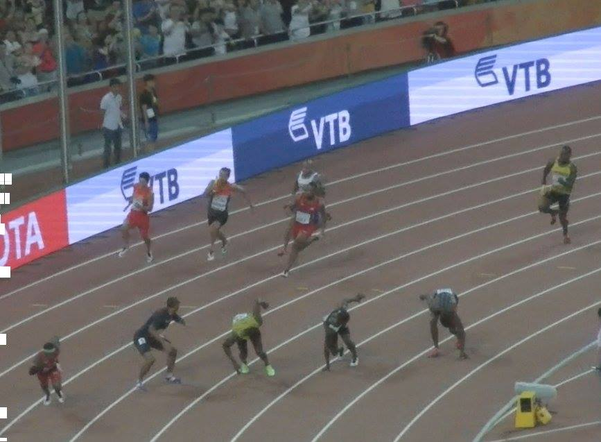 4x100m last exchange 2015WC