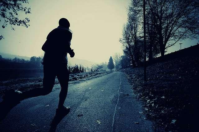 runner alone