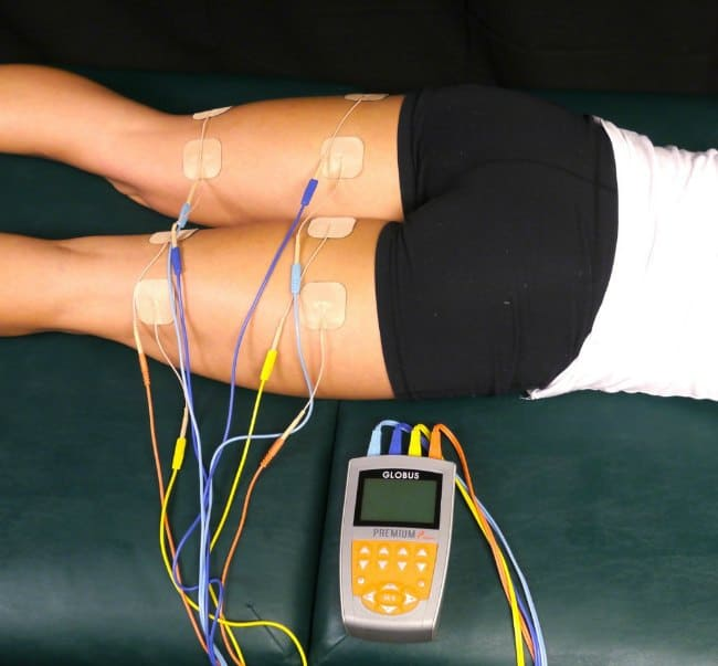 Globus SpeedCoach Electrical Muscle Stim Units for Hamstrings