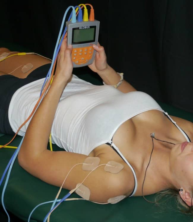 Globus SpeedCoach Electrical Muscle Stim Units for Shoulders
