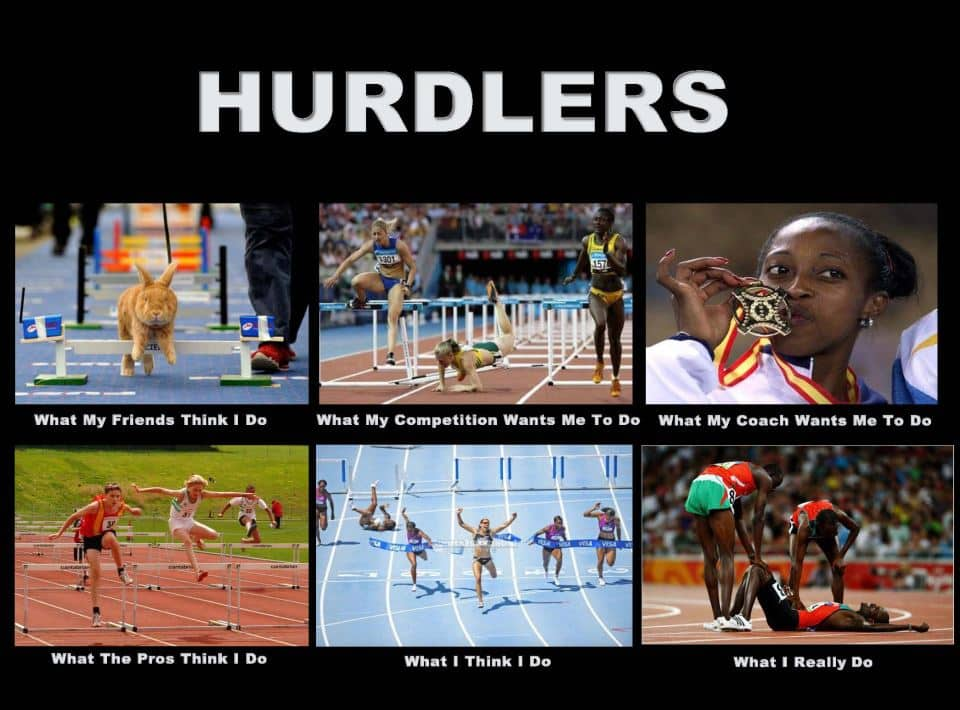 Hurdles - What People Think