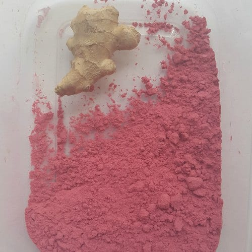 Lingonberry Powder and root ginger