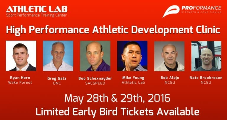High Performance Athletic Development Conference