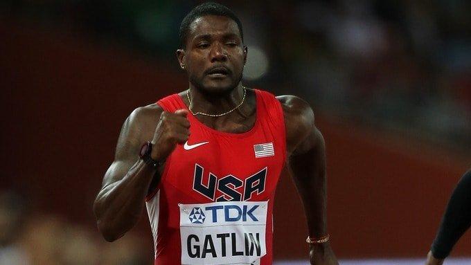 Justin Gatlin USA