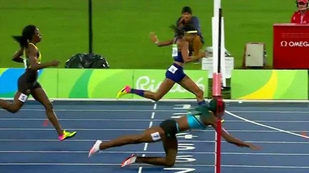 Rio 400m W Photo Finish