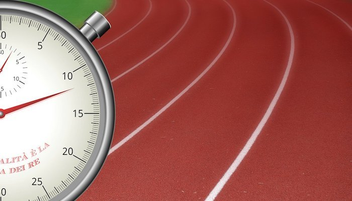 timing and testing for 100m 200m 400m sprinters